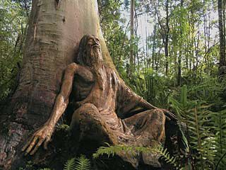 Bruno Torfs' sculpture garden (devastated by bush fires but is being restored) ~ Marysville, Victoria, Australia