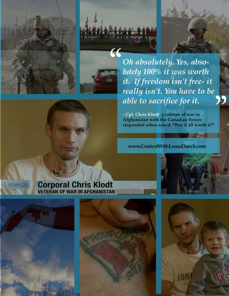 He suffered a bullet wound to the neck and is now paralyzed-- yet he said it was all worth it. https://www.youtube.com/watch?v=oAKPd6Fk9gg #Thankful #Veterans #Freedom