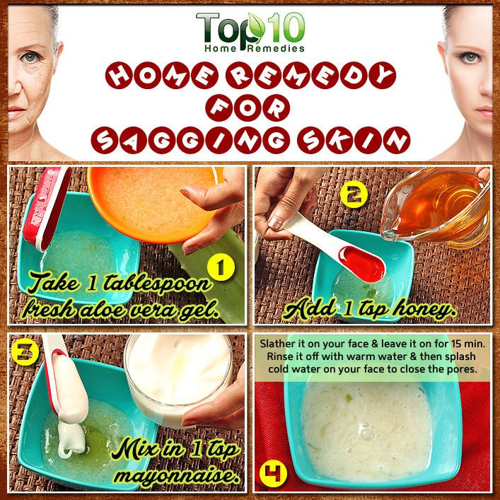 home remedy for sagging skin