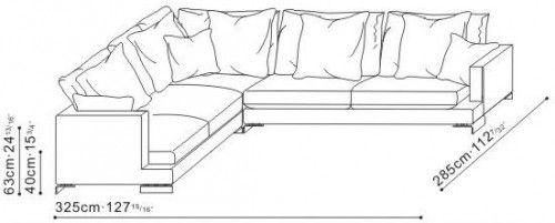 Lazytime Extra Large Corner Sofa