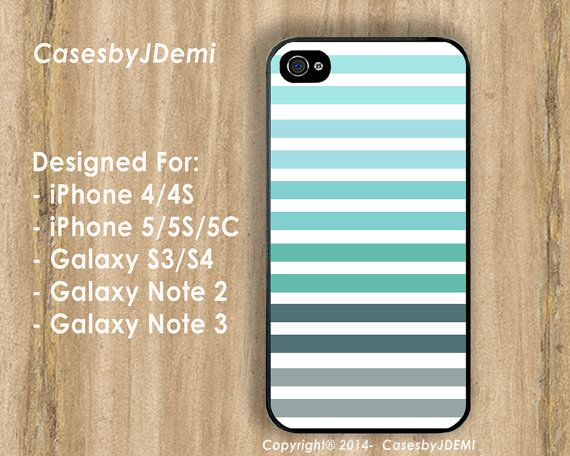 Stripes Patterns Print/ Stripes iPhone Case by CasesByJDemi, $8.99