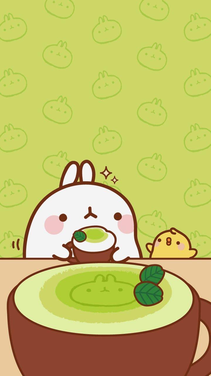 Cute Cake Hd Wallpaper Ley Worldkawaii Wallpapers Para Tu Celular Molang