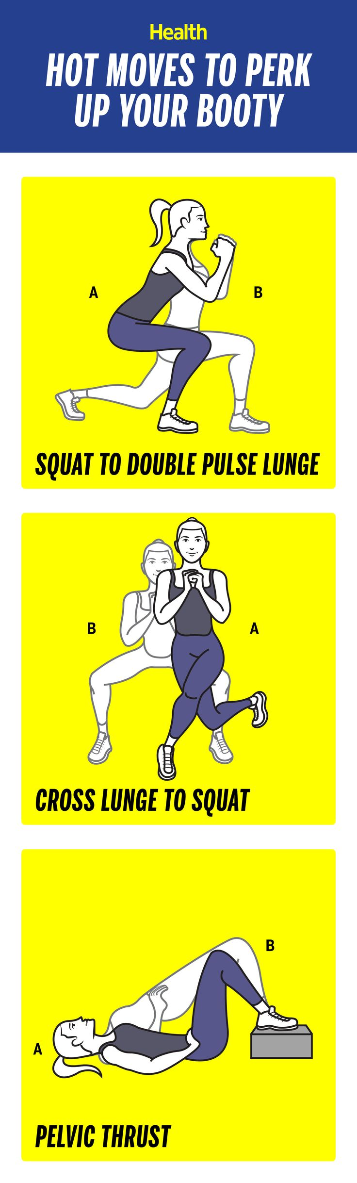 These moves will help boost your booty in no time!