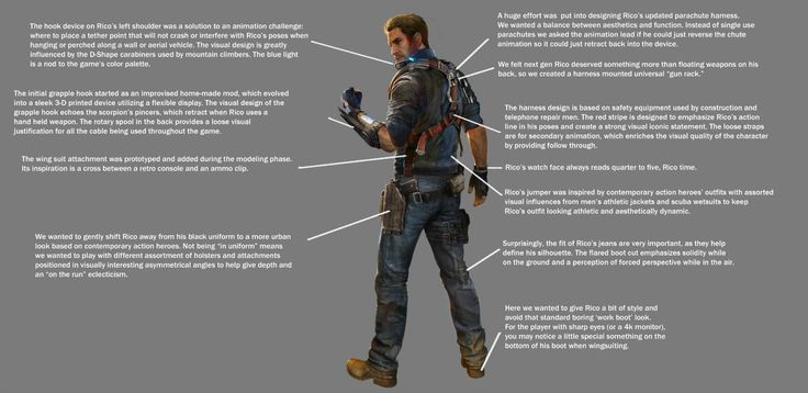 The Face Of Just Cause 3: The Evolution Of Rico - Features - www.GameInformer.com