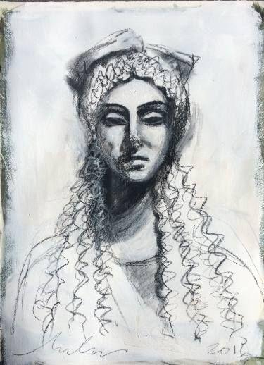"""Saatchi Art Artist melora walters; Drawing, """"Delicata-Acropolis-I"""" #art"""
