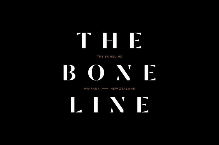 Branding for The Bone Line designed by Inhouse