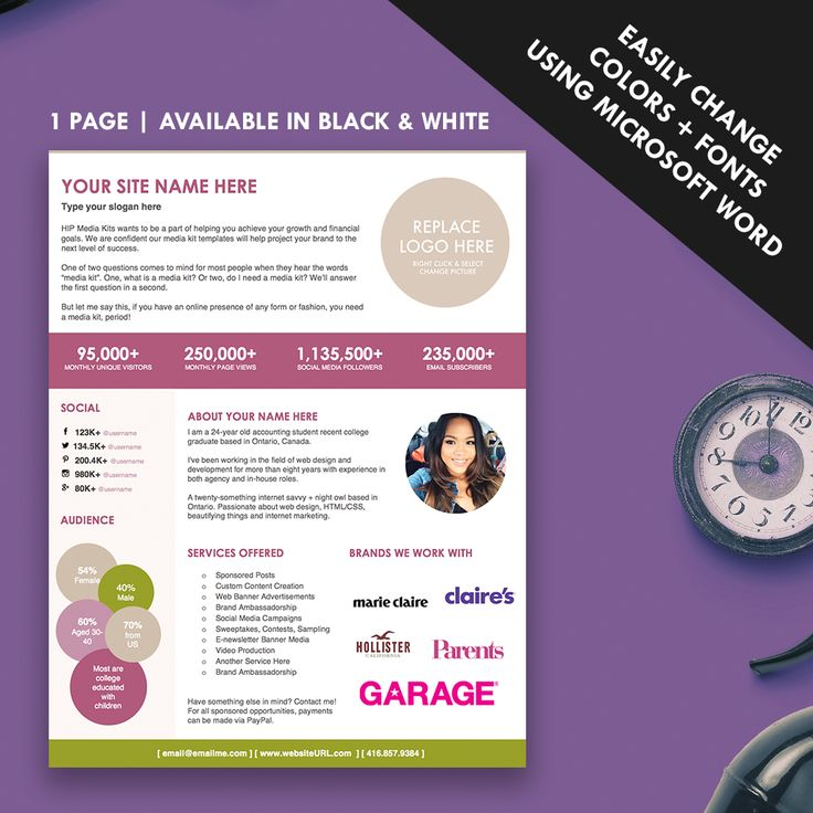 press packet template - 32 best images about media kit design examples on