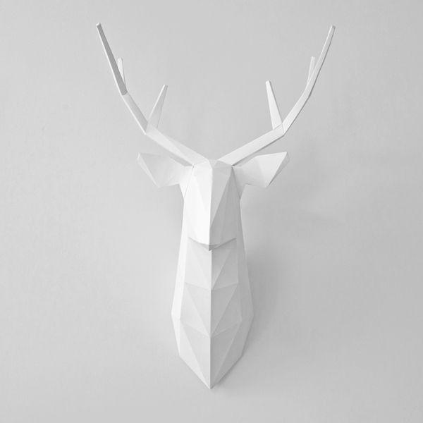PAPER DEER by Fold it, via Behance