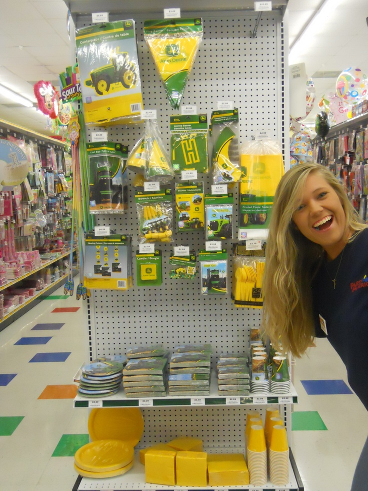 John Deere Party supplies!
