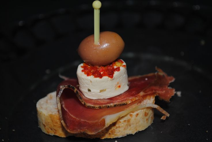 Serrano Ham and Cheese Pincho