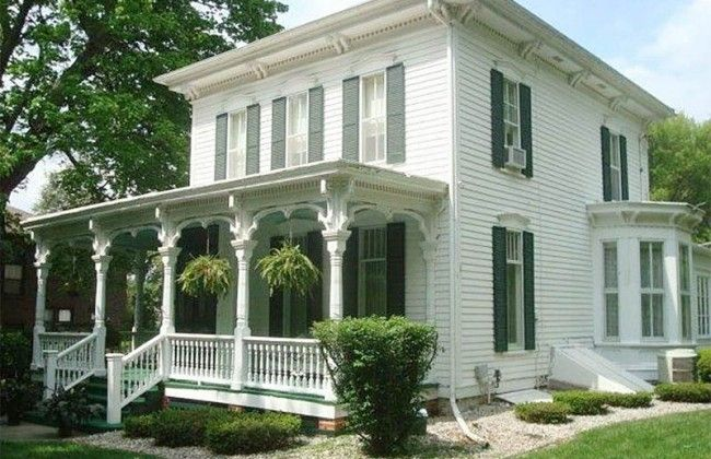 104 best images about porches on pinterest southern for Italianate homes for sale