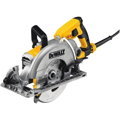 DEWALT 15-Amp 7-1/4-in Worm Drive Corded Circular Saw with Brake