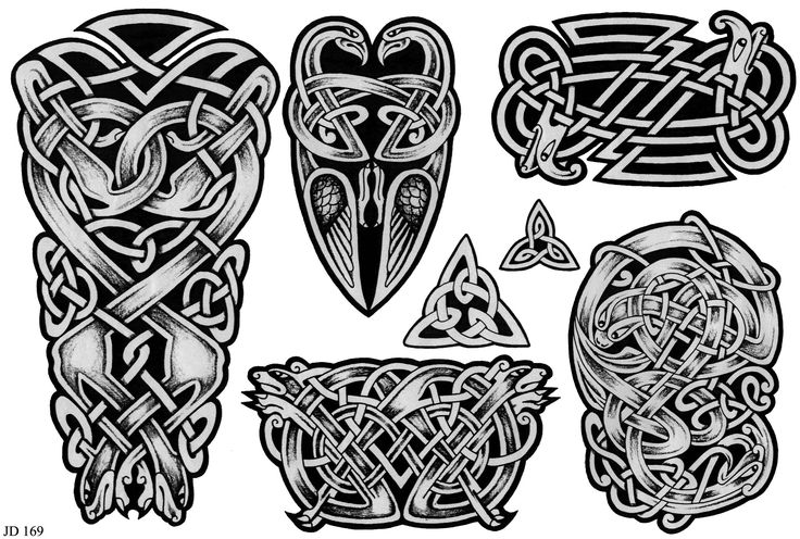 Black Celtic Tattoo Designs photo - 2