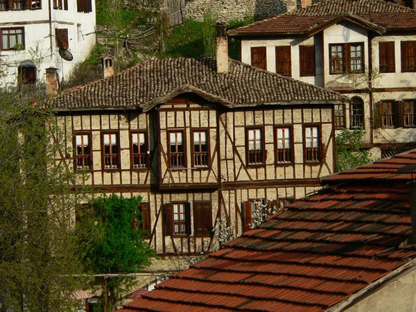 Havuzlu Asmazlar Mansion & Asmazlar Mansion in Sanfranbolu Turkey, Lovely Ottoman Houses