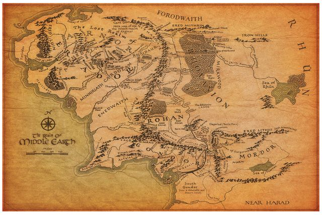 The Most Incredible Fantasy Maps You've Ever Seen
