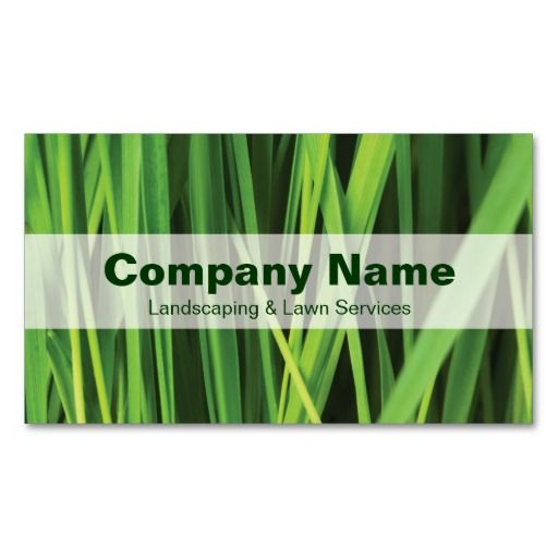 147 best landscaping business cards images on pinterest business landscaping lawn services nature business card accmission Choice Image