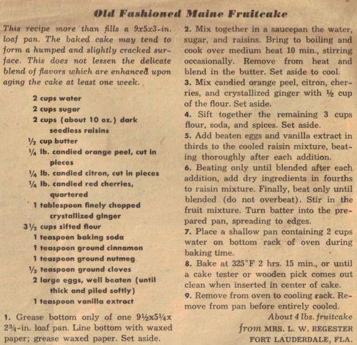 Old English Cake Recipes