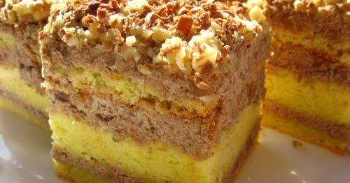 Receptek, és hasznos cikkek oldala: Mámorító főtt diókrémes sütemény – mindenki…