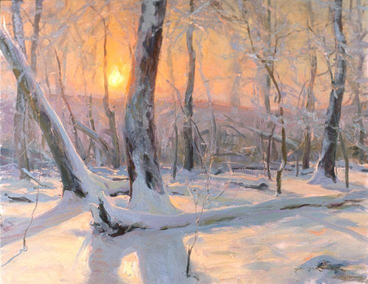 280 best Favorite snow paintings images on Pinterest ...