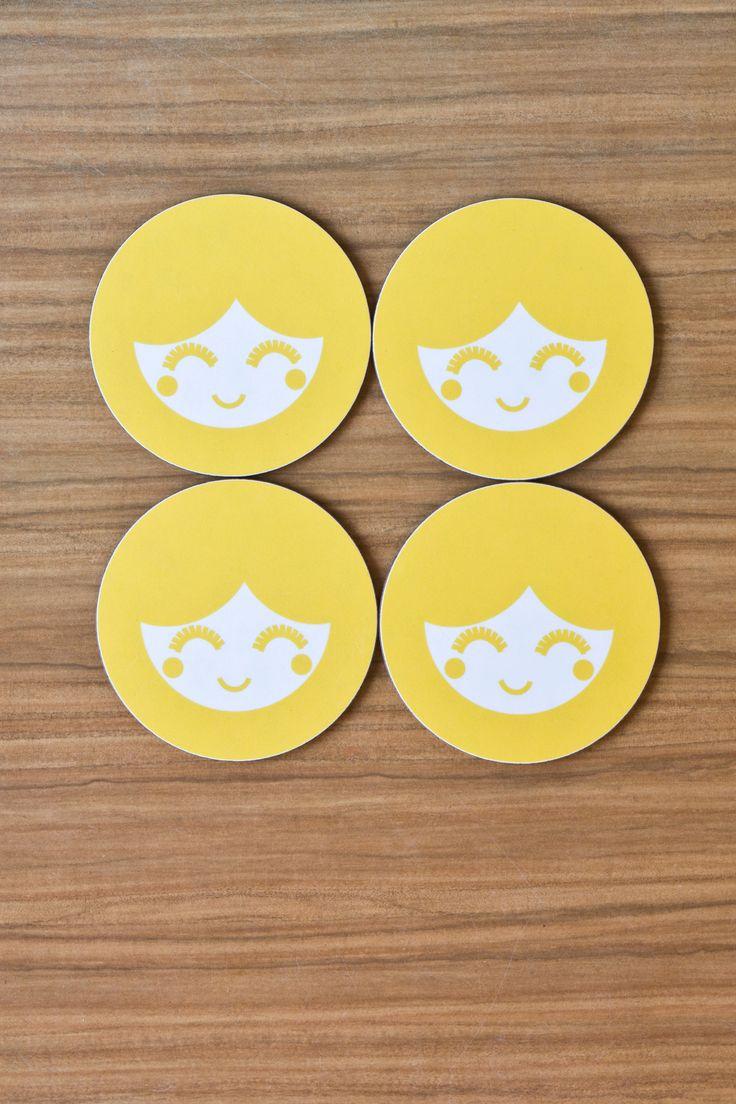 Set of 4 Yoko Coasters