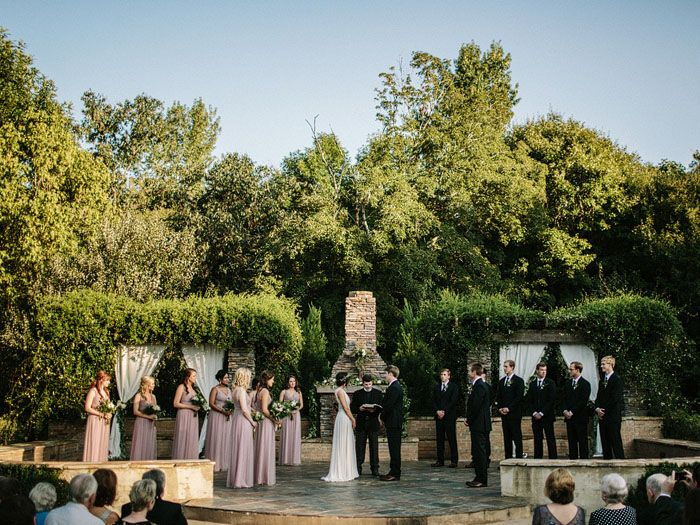 The Sonnet House is an outdoor wedding venue with a Chapel on site for a backup plan, located in Birmingham, Alabama. | Photo by Jonas Seaman Photography