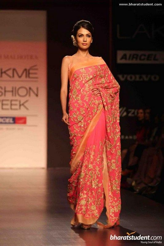 Manish Malhotra Spring Dresses 2013 At Lakme Fashion Week