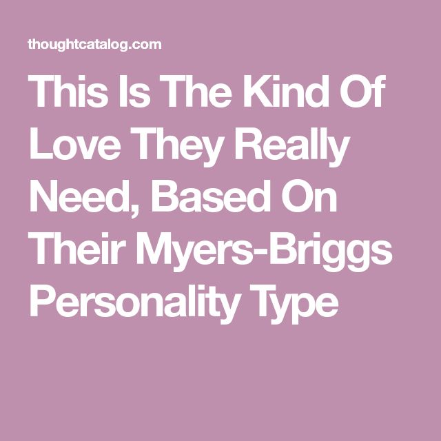 myers briggs personality types pdf