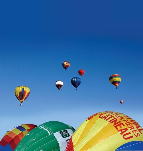 Gatineau Hot Air Balloon Festival / Le Festival de montgolfières de Gatineau Source: Ottawa Tourism