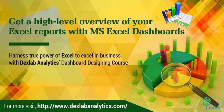 #MSExcel Dashboards allow viewers to get a detailed overview of an MS Excel report with annoyingly scrolling down through the whole report for obtaining a particular information.