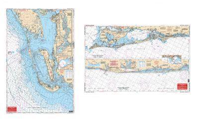 WaterProof Navigation Charts for Massachusetts - Massachusetts Bay, Boston Harbor & Marblehead - Model 65