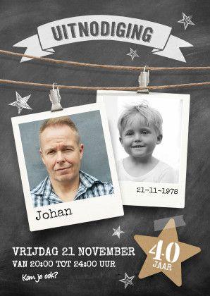Uitnodiging verjaardag jubileum 1
