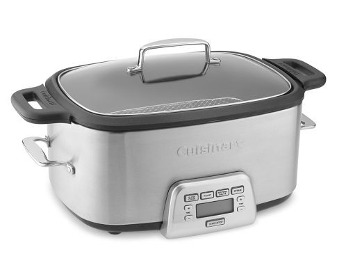 Cuisinart Multicooker - sear, sauté, roast, slow-cook and steam—all in one pot. Just add ingredients and press a button.