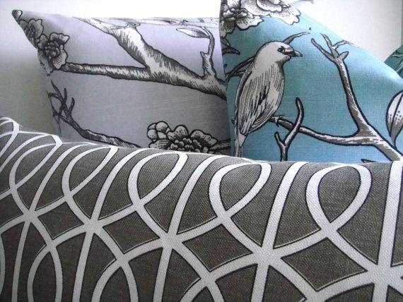 Throw pillows.: Color, 12X22 Lumbar, Dwell Collection, Buy Moresav, Throw Pillows, Buy More Sav, 82 00, Allen Dwell, Coordinating Pillows