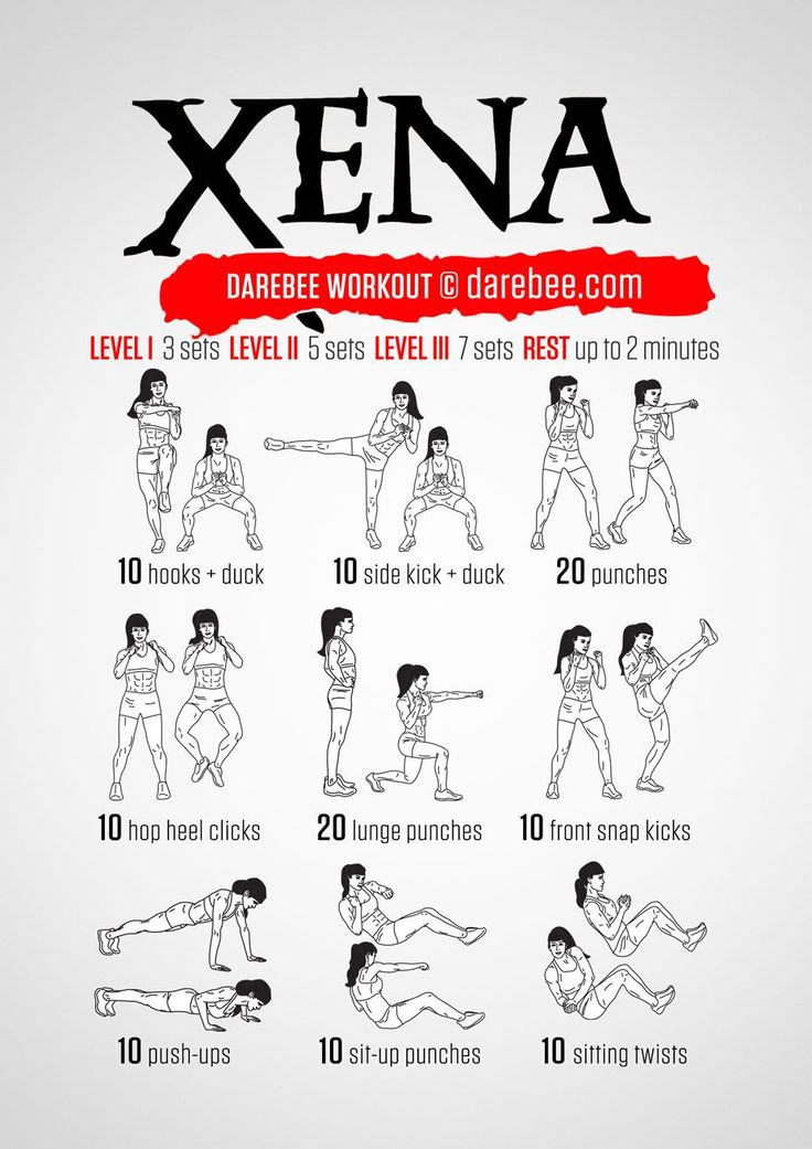 Xena Workout, for my wife