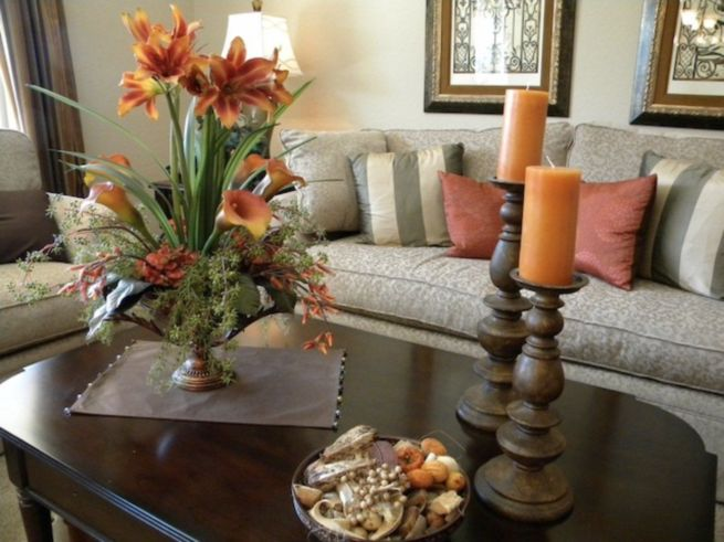 1000 ideas about coffee table centerpieces on pinterest - Table centerpieces for home ...