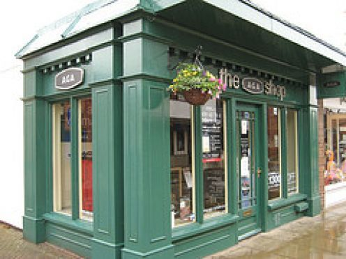 A smart Aga Shop in England