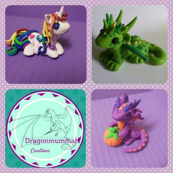 Custom orders available. $25 for a dragon, $30 for dragon with extras $35 for pony or unicorn. You choose colours poses etc. $8.50 P&H  flat rate Australia wide. www.facebook.com/dragonmummah