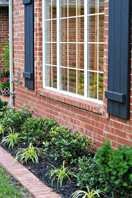 Dimples and Tangles: FRONT YARD LANDSCAPING