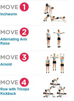 15-Minute Arm Workout: Sculpt your arms and shoulders with this fitness plan