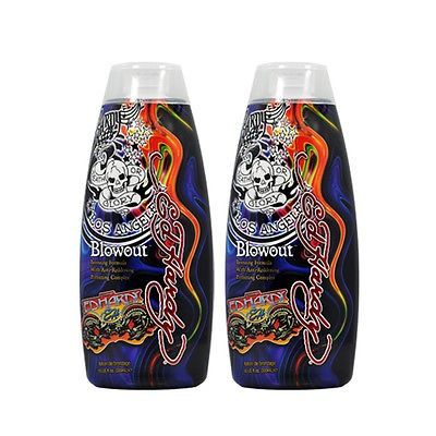cool Lot 2 Ed Hardy Blowout Indoor Tanning Lotion Accelerator Bronzer Dark Tan Bed - For Sale