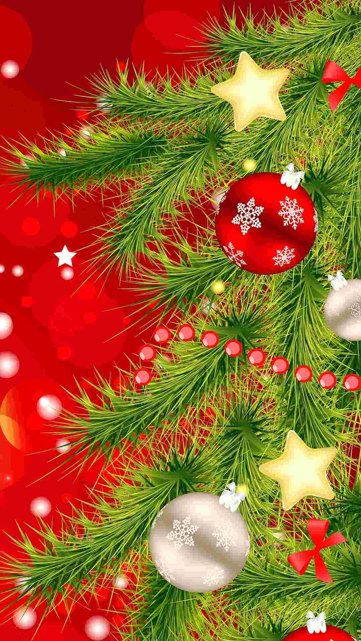 christmas iphone background tree iphone 6 plus wallpaper balls 2941