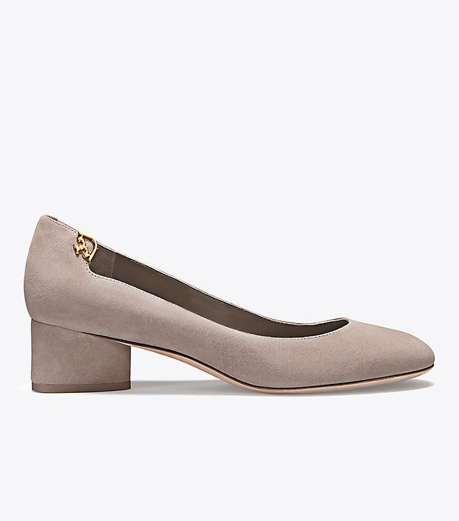 Visit Tory Burch to shop for Elizabeth Suede Round-toe Pump and more Womens  View