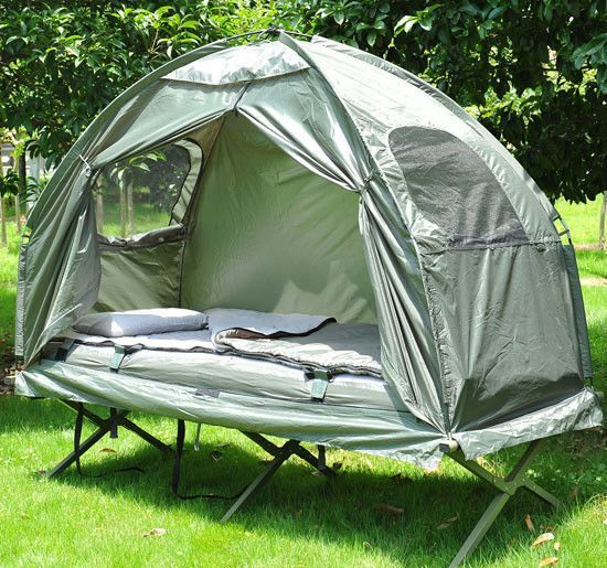 Outdoor one-person folding dome tent hiking camping bed cot  | 1000x1000.jpg  $119 on e-Bay