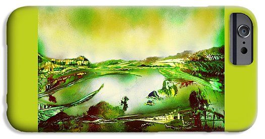 Printed with Fine Art spray painting image Lake Of Spirits by Nandor Molnar (When you visit the Shop, change the orientation, background color and image size as you wish)