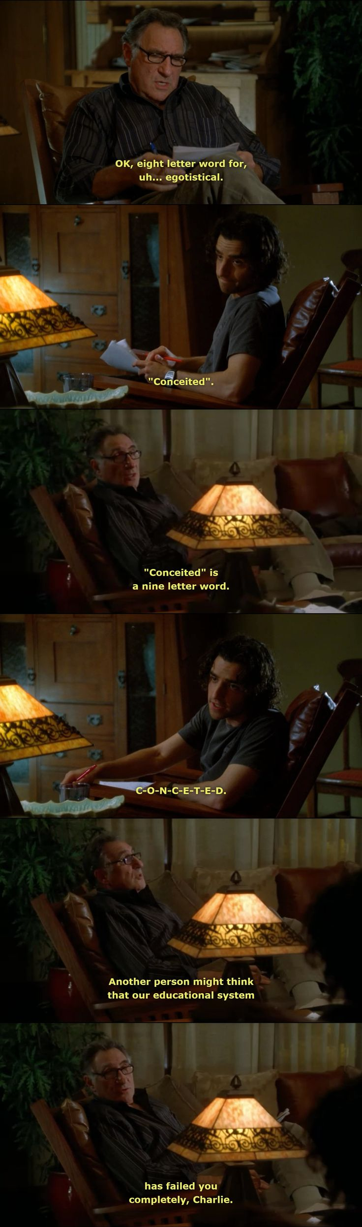 """Numb3rs, """"Toxin"""", Season 2, Episode 9"""