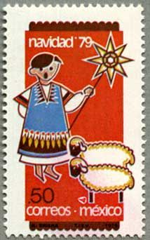 Ola! Leena dreams of taking a trip with PNP Santa to Mexico. (Stamp: Mexico, 1979)