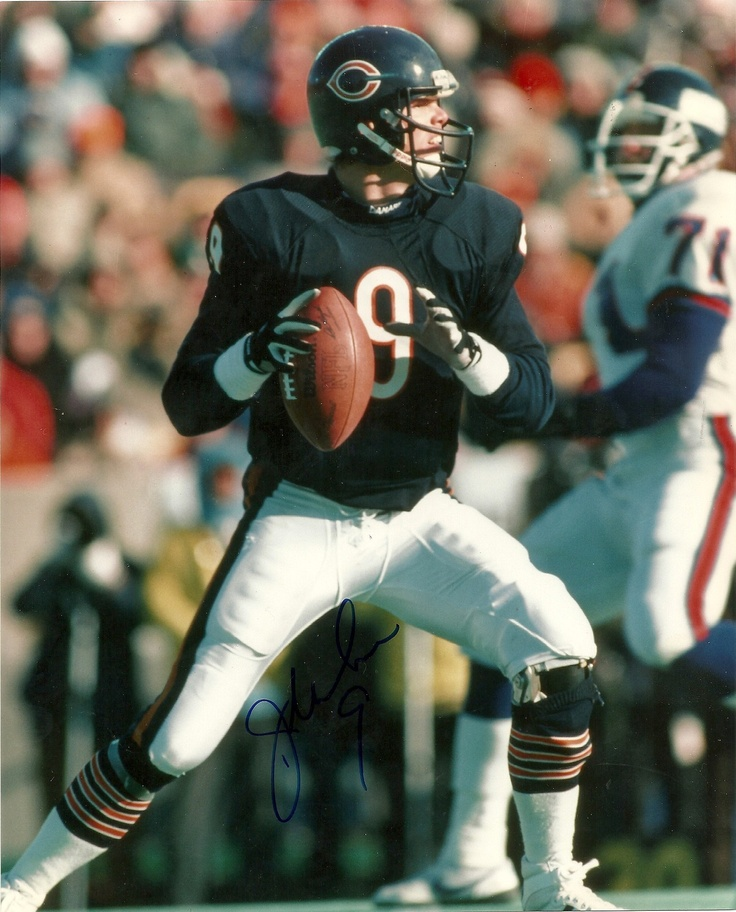 Jim McMahon #9 Chicago Bears QB