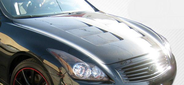 Carbon Creations 08-14 Infiniti G Coupe G37 Q60 Hood
