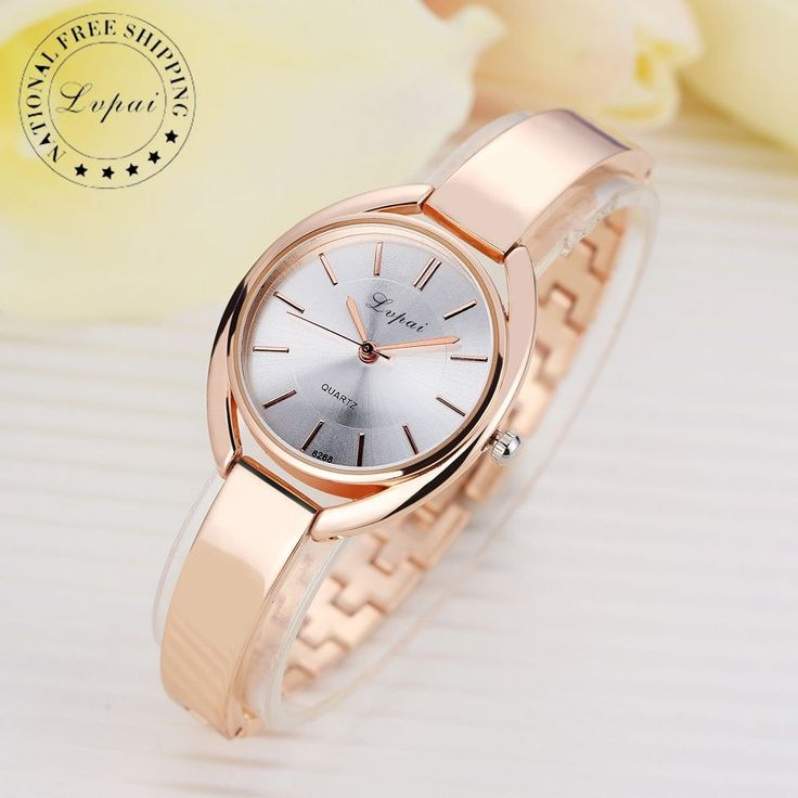Lvpai Brand Luxury Women Bracelet Watches Fashion Women Dress Wristwatch Ladies Business Quartz Sport Watch LP025  Price: 2.55 USD