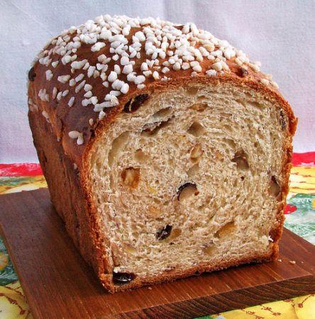 Датский рождественский хлеб